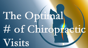 It's up to you and your pain as to how often you see the Severna Park chiropractor.