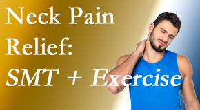 Back And Neck Care Center offers a pain-relieving treatment plan for neck pain that combines exercise and spinal manipulation with Cox Technic.