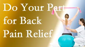 Back And Neck Care Center invites back pain sufferers to participate in their own back pain relief recovery.