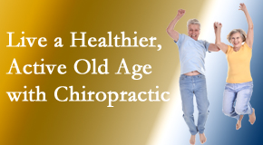 Back And Neck Care Center welcomes older patients to incorporate chiropractic into their healthcare plan for pain relief and life's fun.