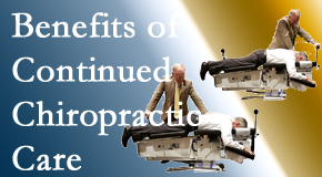 Back And Neck Care Center offers continued chiropractic care (aka maintenance care) as it is research-documented as effective.