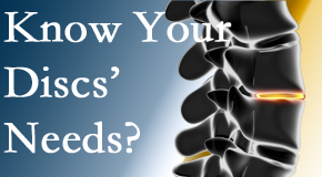 Your Severna Park chiropractor thoroughly understands spinal discs and what they need nutritionally. Do you?