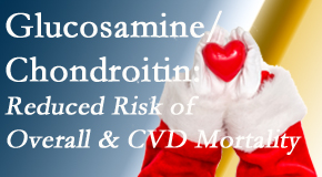 Back And Neck Care Center shares new research supporting the habitual use of chondroitin and glucosamine which is shown to reduce overall and cardiovascular disease mortality.