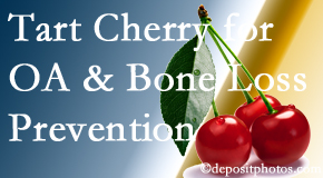 Back And Neck Care Center shares that tart cherries may improve bone health and prevent osteoarthritis.