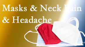 Back And Neck Care Center shares how mask-wearing may trigger neck pain and headache which chiropractic can help alleviate.