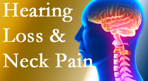 Back And Neck Care Center offers Severna Park chiropractic care to ease neck pain and potentially improve related hearing loss.