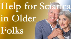 Older back pain and leg pain sufferers feel understood and are helped at Back And Neck Care Center.