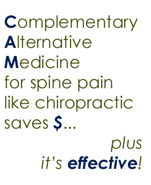 spine pain help from Severna Park chiropractors