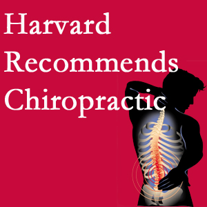 Back And Neck Care Center offers chiropractic care like Harvard recommends.