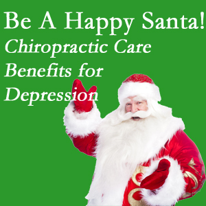 Severna Park chiropractic care with spinal manipulation has some documented benefit in contributing to the reduction of depression.