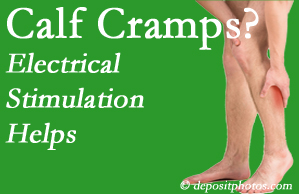 Severna Park calf cramps related to back conditions like spinal stenosis and disc herniation find relief with chiropractic care's electrical stimulation.