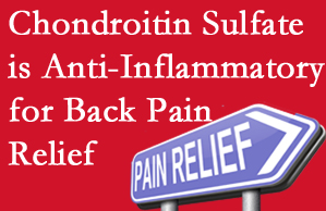 Severna Park chiropractic treatment plan at Back And Neck Care Center may well include chondroitin sulfate!