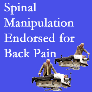 Severna Park chiropractic care involves spinal manipulation, an effective,  non-invasive, non-drug approach to low back pain relief.