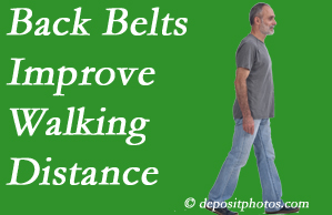 Back And Neck Care Center sees benefit in recommending back belts to back pain sufferers.