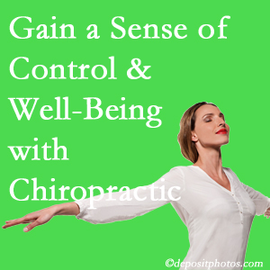 Using Severna Park chiropractic care as one complementary health alternative boosted patients sense of well-being and control of their health.
