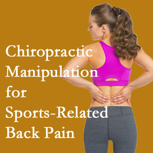 Severna Park chiropractic manipulation care for common sports injuries are recommended by members of the American Medical Society for Sports Medicine.